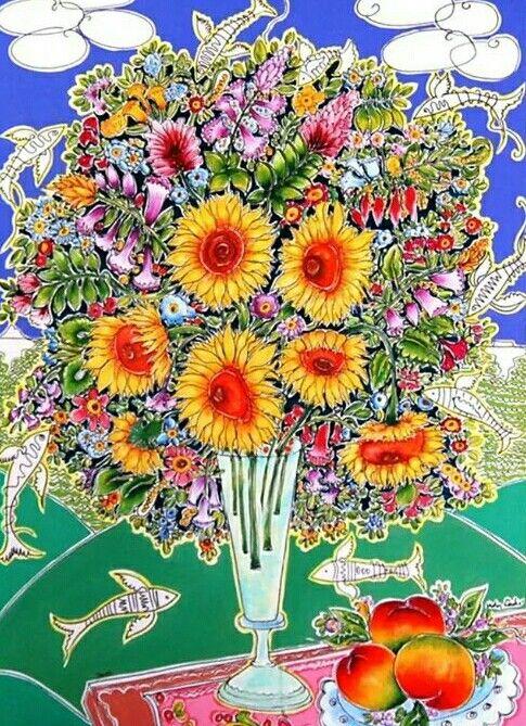 Flores by Adir Sodré