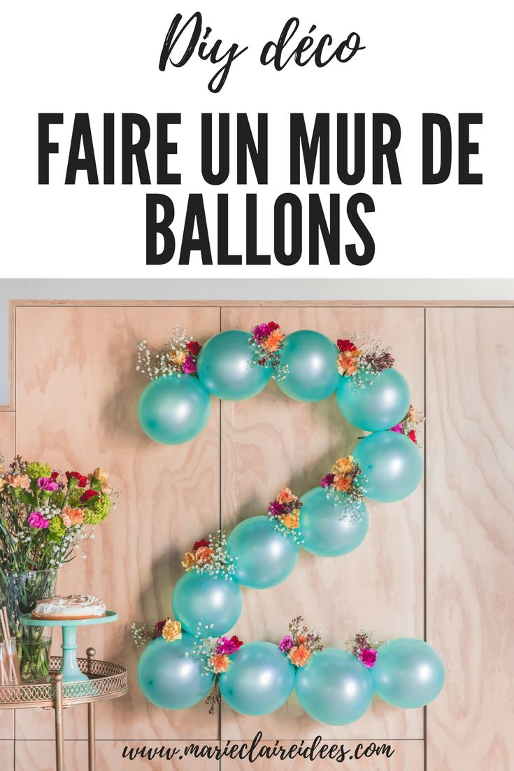 DIY végétal : des ballons personnalisés
