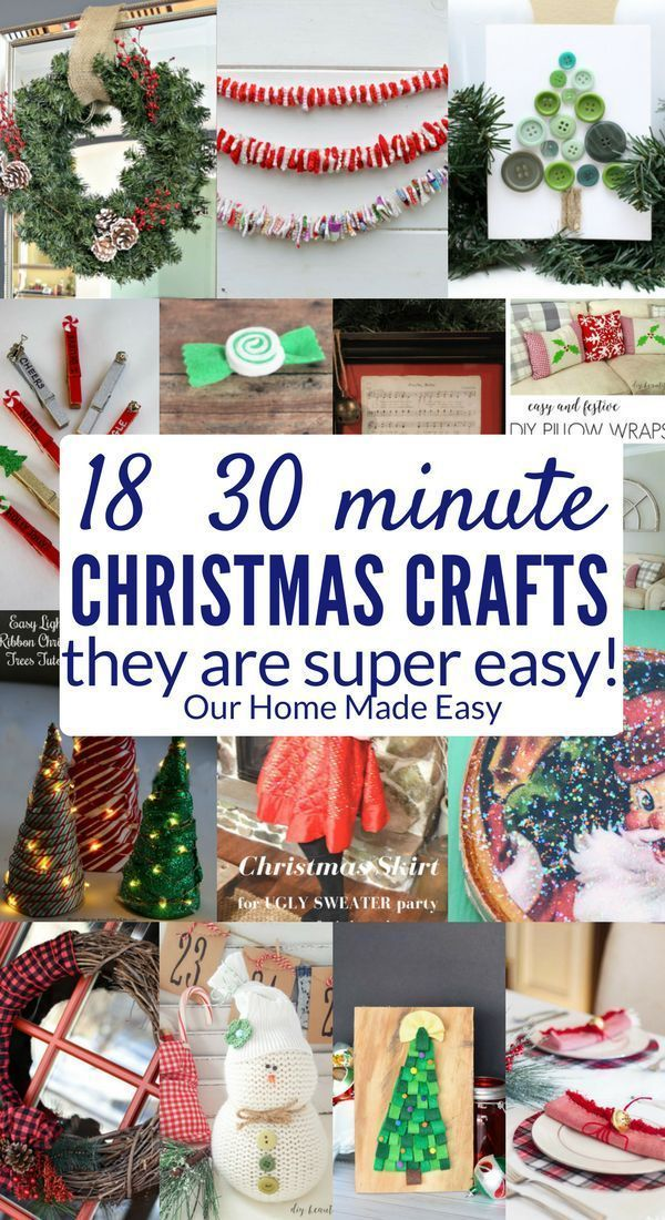 Unique Crafting Christmas Ideas