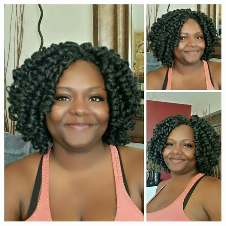 Crochet Braids. Janet Collection - Nior Afro Twist Braid #1B. San ...