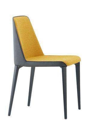 Chaise design de couleur pedrali laja 880 chair - Chaise design couleur ...