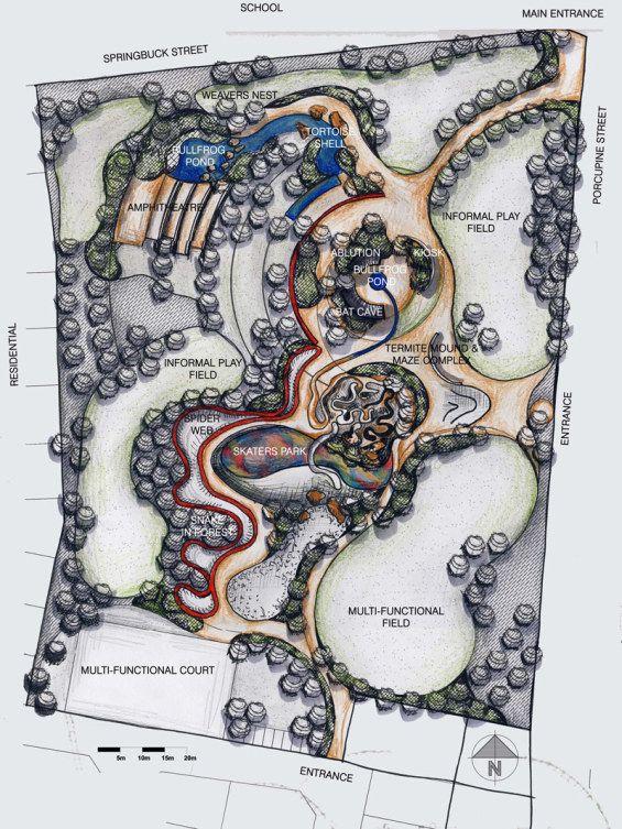 Habitat Landscape Architects designs park for new government-housing scheme Johanesburg_SouthAfrica