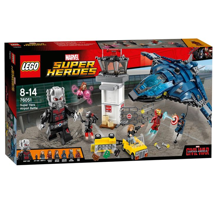 Lego Super Heroes 76051 Confidential - Captain America MovieAfmeting: verpakking 54 x 28 x 8 cm - Lego Super Heroes 76051 Confidential - Captain America Movie