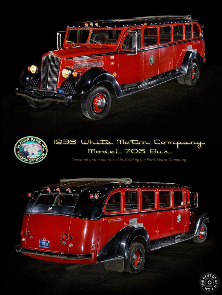 80 best images about vintage bus on pinterest for White motor company trucks