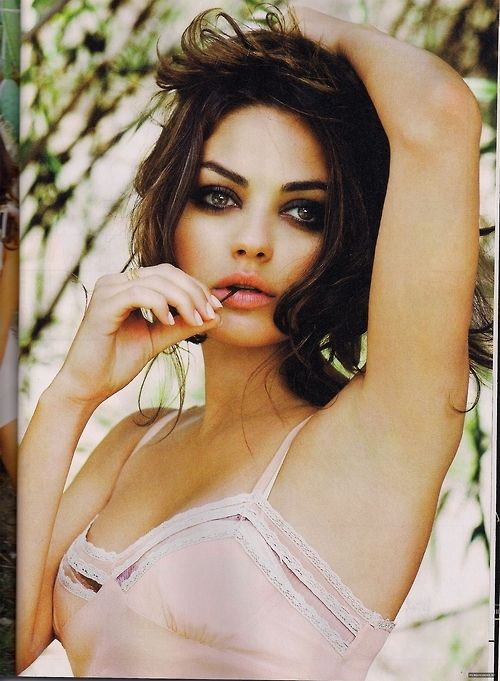 Mila Kunis... love her beauty!