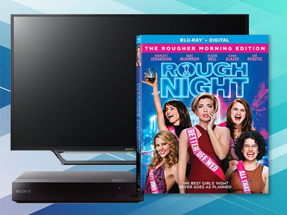 "Win ""ROUGH NIGHT"" on Blu-ray and a Sony LED TV"