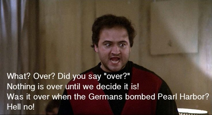 "JOHN BELUSHI ""Animal House""."