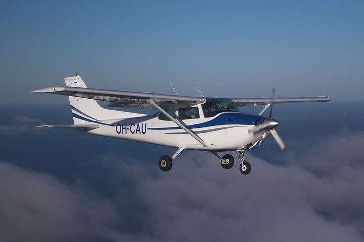 """Cessna 172 is the most successful mass produced light aircraft in history. The first production models were delivered in 1956 and they are still in production.* More commonly known as the """"Skyhawk"""", this aircraft is a four seat, single-engine, high wing airplane."""