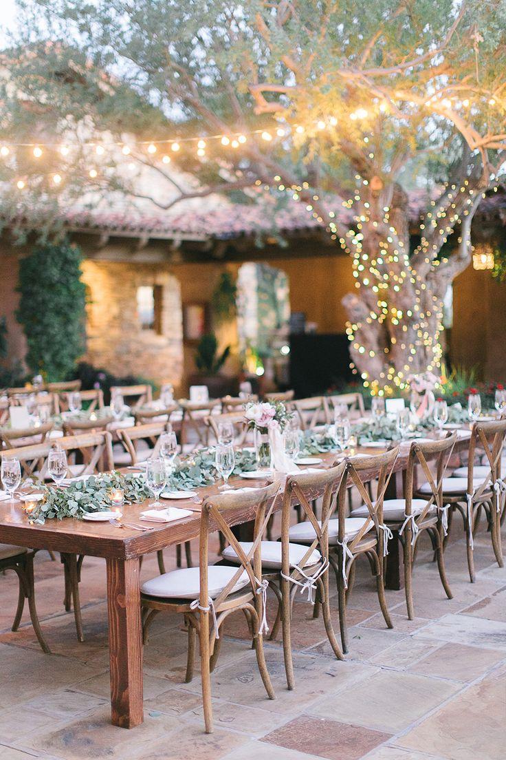 garden party wedding receptions - photo by Andrew Jade Photography http://ruffledblog.com/light-and-airy-garden-party-wedding