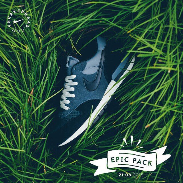 #nike #epicpack #sneakerbaas #baasbovenbaas  Nike Air Epic- Nike season never stops, this is a fresh pack filled with 4 colorways. They know how to end the summer in style.  Release 21.08.2015 | Priced at 119.95 EU | Men Sizes 38.5 - 47.5 EU