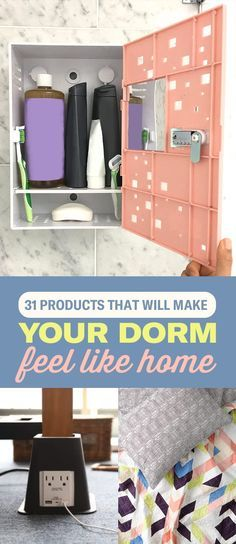 31 Product That Will Make Your Dorm Room Feel Like Home