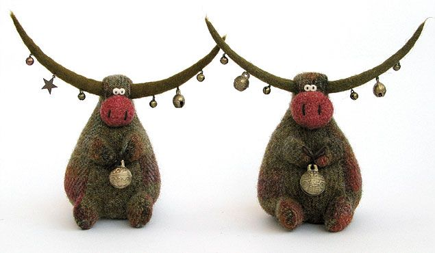 bulls with bells