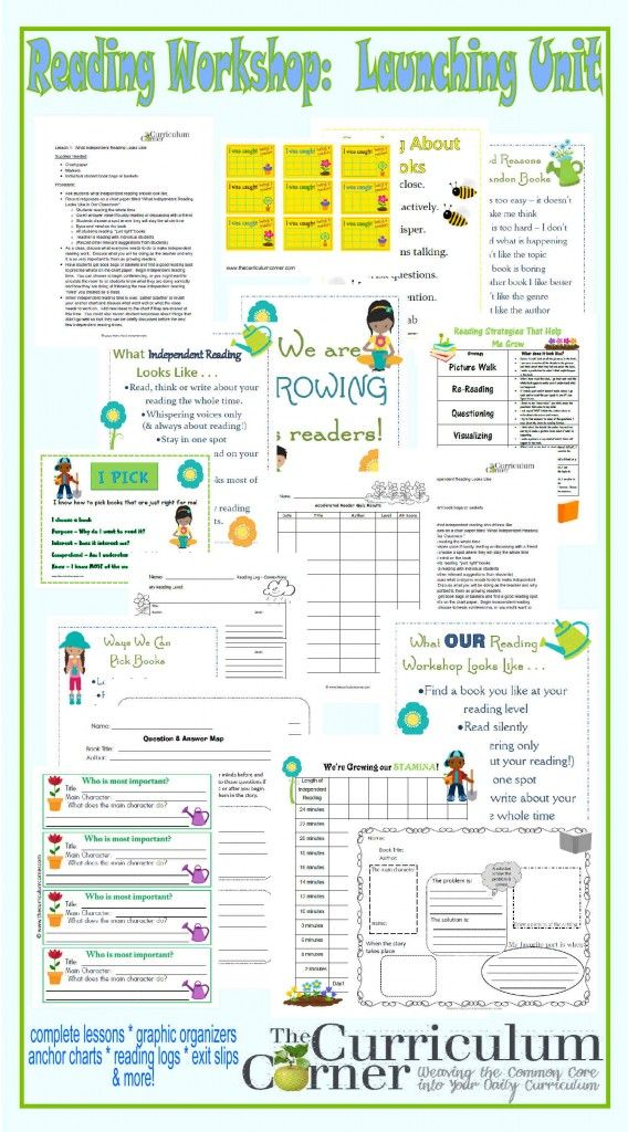 TEACHERS - this is a HUGE find!  Complete Reading Launch Unit FREE from The Curriculum Corner   20 lessons   printables   anchor charts