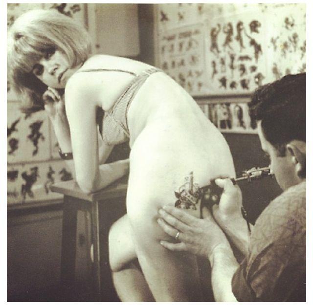 15 Sexy Under Butt Tattoos - RebelCircuscom Tattoo