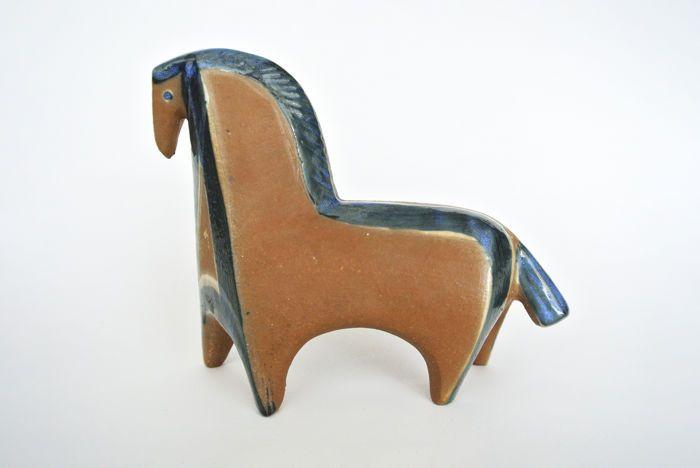 Catawiki Online Auction House Lisa Larson Gustavsberg Ceramic Object Horse 1 Ceramic Earthenware Earthenware Ceramics Mid Century Ceramics