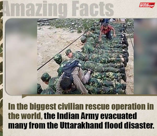 Facts About Indian Army That Will Make Your Chest Swell With Pride