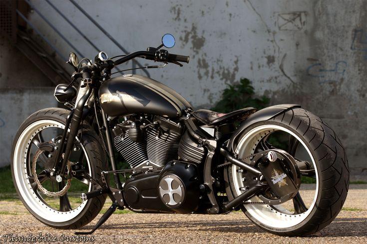 #Thunderbike Rocking 63 - Customized #Harley-Davidson Softail Rocker