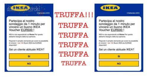BuoniSconto: #Truffa #Whatsapp: #buoni spesa Ikea. Attenzione! (link: http://ift.tt/2cQnT9s )