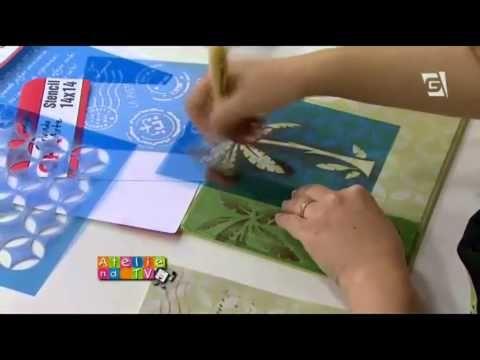 Stencil OPA - 14/10/14 - Mayumi Takushi - Bandeja Falso Ladrilho - YouTube