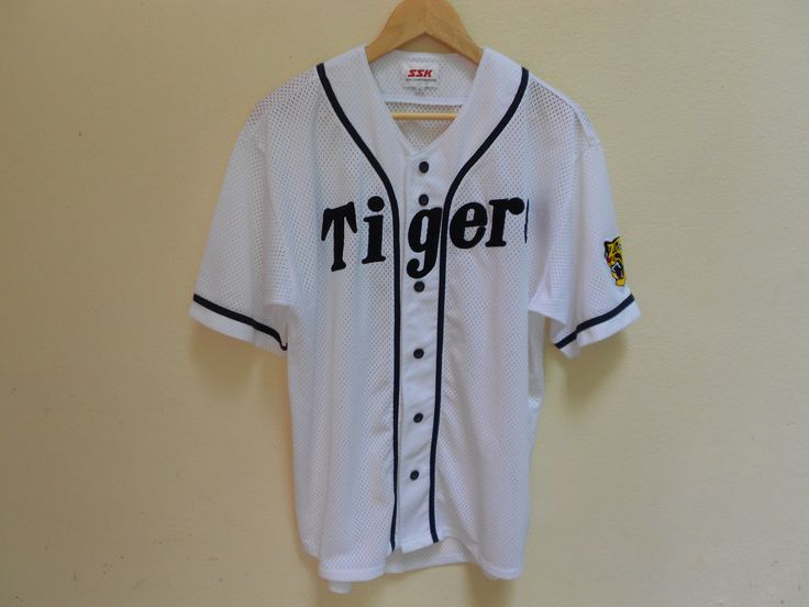 A personal favorite from my Etsy shop https://www.etsy.com/listing/524814496/vintage-hanshin-tigers-japanese-basbell