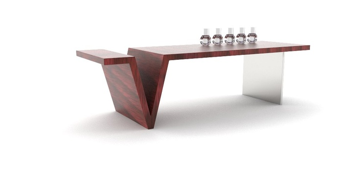 Sqaure Root Dining Table by Jason Phillips at Coroflot.com