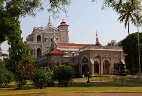 Built by Sultan Muhammed Shah Aga Khan III, who wanted to give employment to the people hit by starvation. Inherent 1892, it is one of the greatest landmarks in Indian history. http://www.indiaataglance.com/aga-khan-palace/