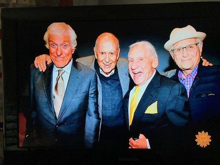 In their 90's good friends Dick van Dyke, Carl Reiner, Mel Brooks, and Norman Lear