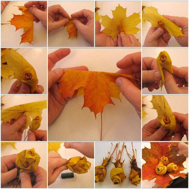 Diy : leaf rosetts. Hum... very interesting. I might just have to give this a go...