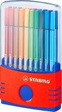 Stylo feutre Pen 68 ColorParade, Boîte de 20
