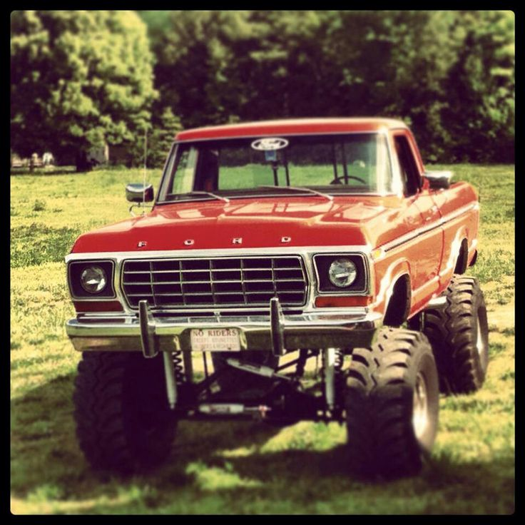 185 best Truck mirror images on Pinterest | Ford 4x4, Ford trucks ...