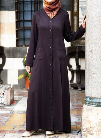 Maxi Shirtdress Dark Chocolate color Sometimes nothing can beat the tried and tested recipe for chic modest style, but our newest take on the classic shirtdress goes the extra distance. Designed with your modesty in mind and in a succulently soft cotton jersey to keep you comfy, this piece will never go out of fashion. The possibilities are endless.