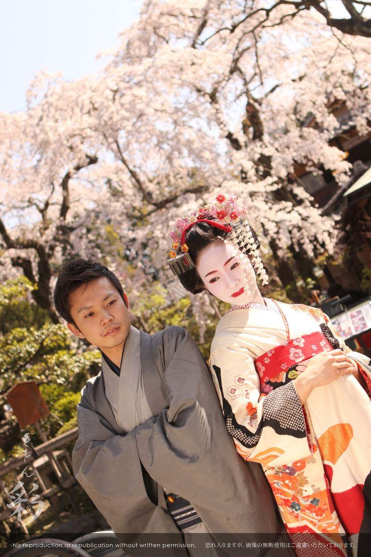 カップルで舞妓体験。#Maiko #Kyoto