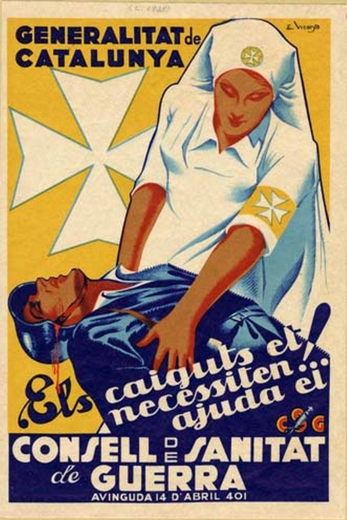 Revolutionary propaganda poster | Spanish civil war 1936/39 #Afiches @deFharo