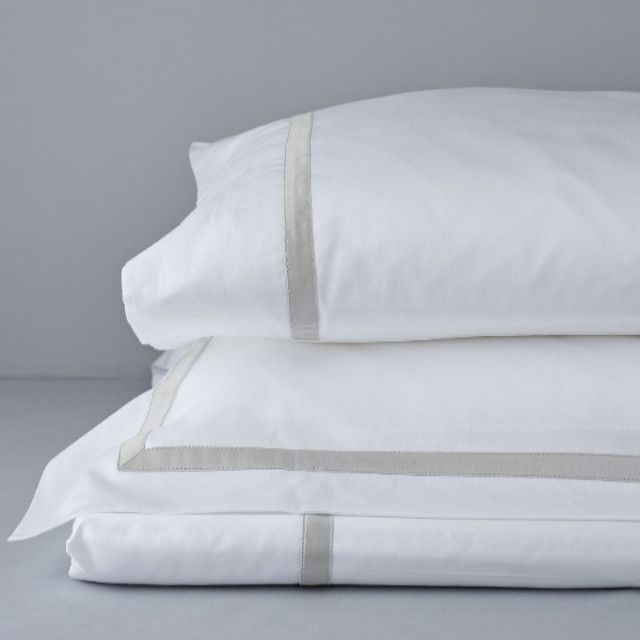 Valeria Duvet Sets, Luxury Bedding with Trim from TOILE Boutique