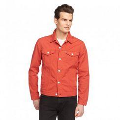 Levi's Trucker Jacket, Bedford Cord - Red Rock