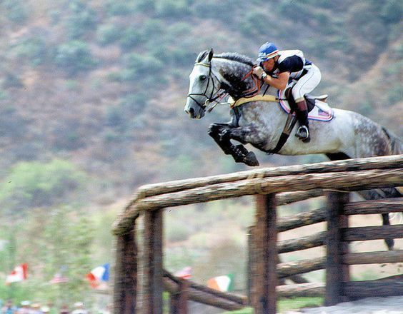 1984 Olympics: Equestrian Eventing (29 of 37) by valeehill on Flickr.