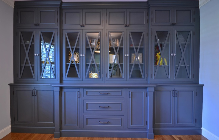 Awesome Built In China Cabinet Designs