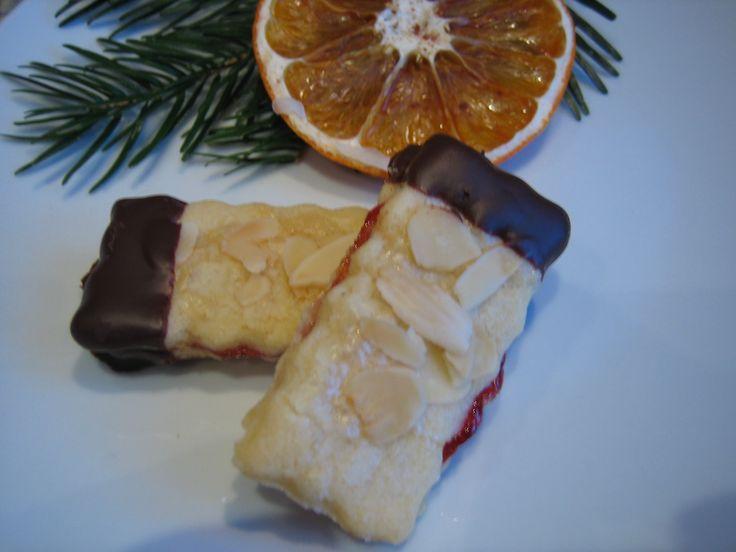 Rezept Mandelstangen ca. 60 Plätzchen von ullim - Rezept der Kategorie Backen süß