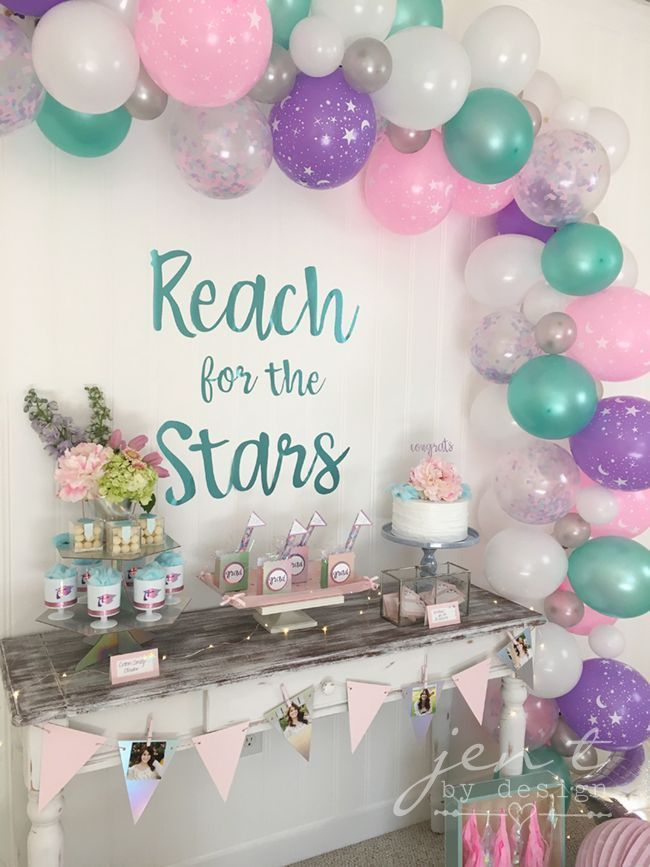 A heavenly graduation party with Cricut, Martha Stewart and Michaels