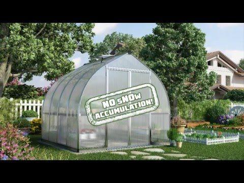 Palram Bella 8x8 Polycarbonate Greenhouse VIDEO https://www.greenhousestores.co.uk/Palram-Bella-8x8-Polycarbonate-Greenhouse.htm