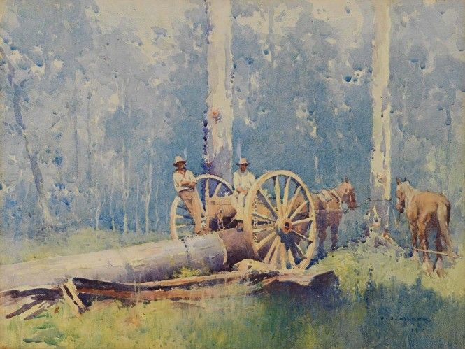 Hilder  - The timbergetters 1912
