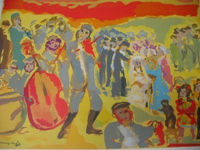 """The Marriage"" by Mane Katz"