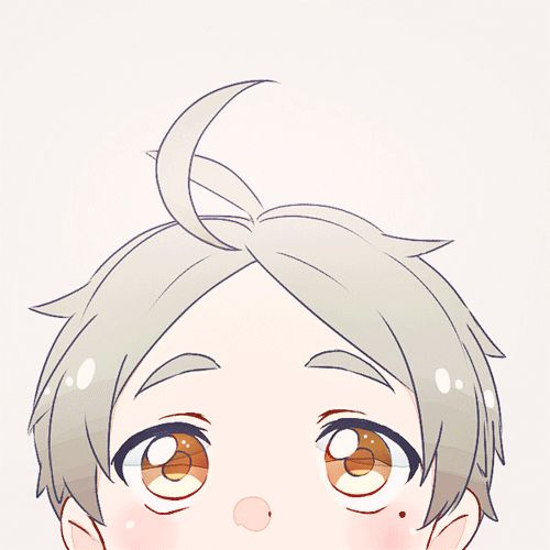 This is the most adorable gif ever!!! Sugawara chibi