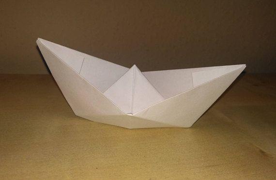 Origami boat wedding boat paper boat boat decor nautic