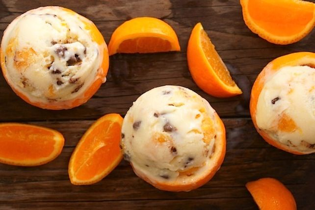 A recipe inspired by a visit to the Ojai Valley: Pixie-Tangerine Mascarpone Ice Cream.