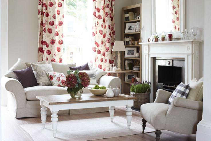 stunning vintage modern living room honeysuckle life   17 Best images about Living room ideas on Pinterest ...