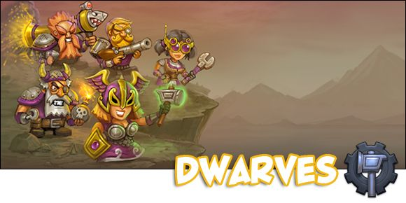With this update, the Dwarves also got some boosted lovin'! Though I admit I find them pretty weak from the get-go, it really is the payer's style that affects it more than anything. And people used to playing Council and Dark Elves just might not sync well with these shorties. I'm also trying out some tactics with them, and if my theories are correct, well, I might just learn to enjoy them as much as the other factions!