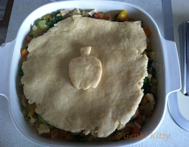 Tofu & Kale Pot Pie Recipe vegan