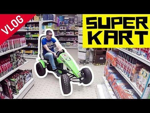 VLOG: PROVO il SUPER KART a PEDALI della BERG!