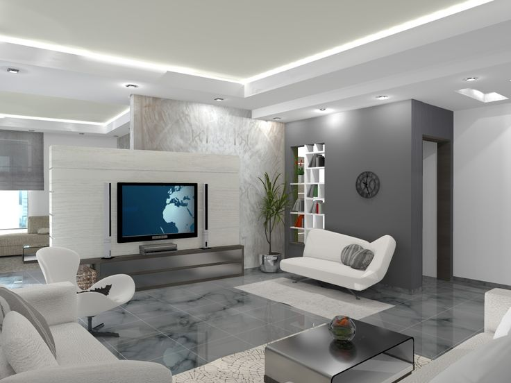 Interieur maison moderne salon recherche google d co for Idee amenagement interieur maison